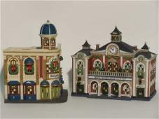 """2045: """"TWO PIECES OF DEPARTMENT 56