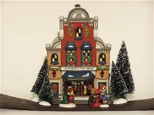"""DEPARTMENT 56| ''Scottie's Toy Shop'',"