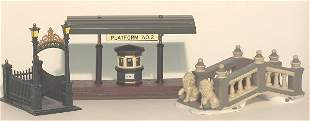 """""""THREE PIECES OF DEPARTMENT 56