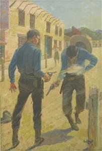 "2303: ""STRAYER, PAUL| (1885-1981 American) Gu"