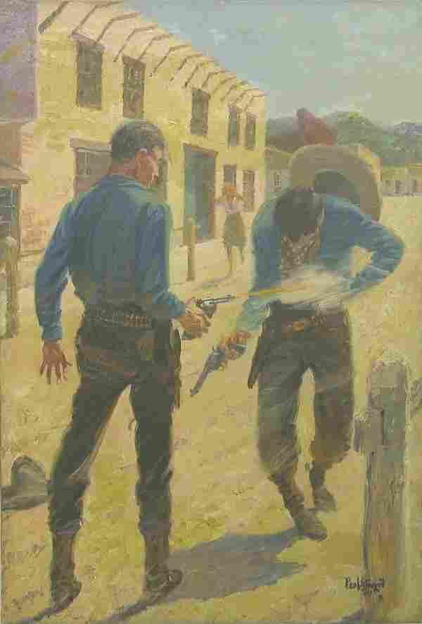 """STRAYER, PAUL  (1885-1981 American) Gu"