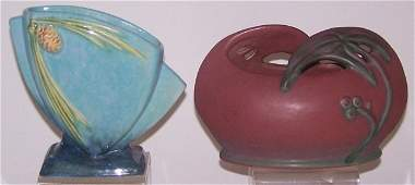 *2 PIECES OF ART POTTERY