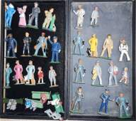 2 GROUPS OF LEAD FIGURES