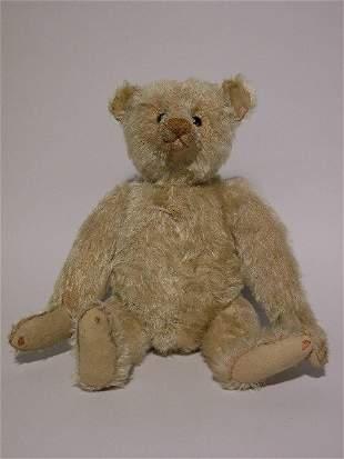 EARLY STEIFF TEDDY BEAR - CIRCA 1903-05| Light gold