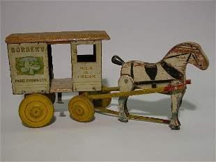 BORDON'S ADVERTISING PULL-TOY| ''Morrison Rich Toys