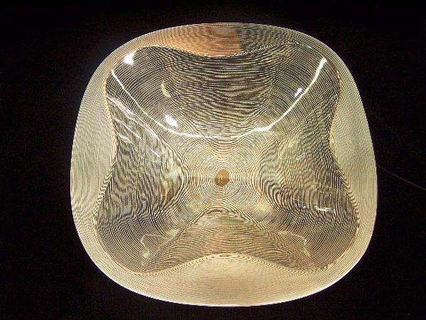 1009: LALIQUE ART GLASS BOWL