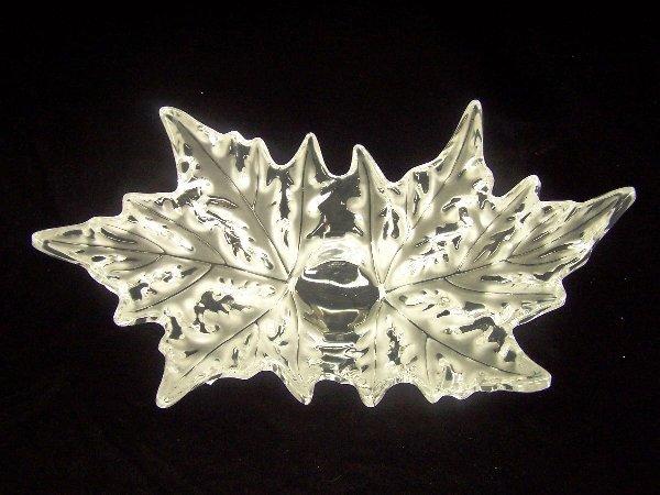 1013: LALIQUE ART GLASS BOWL