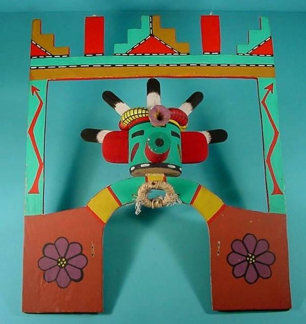 2004:  ***LAGUNA CORN KACHINA DANCE TABLITA| Carved of