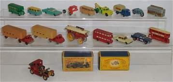 *GROUP OF LESNEY MATCHBOX DIECAST CARS