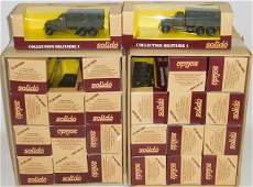*24 SOLIDO DIECAST MILITARY MODELS
