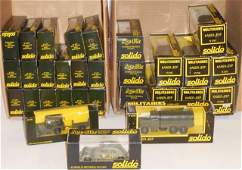 *2 GROUPS OF SOLIDO DIECAST MILITARY MODELS