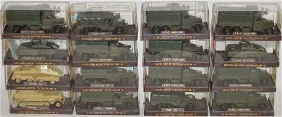 *16 SOLIDO DIECAST MILITARY MODELS
