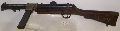 *BRITISH LANCHESTER MK1 SUBMACHINE GUN