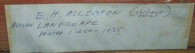 *ALLERTON, E.H. - 5