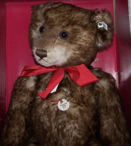 *STEIFF TEDDY BEAR - 3