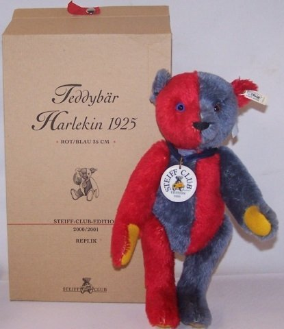 *STEIFF TEDDY BEAR