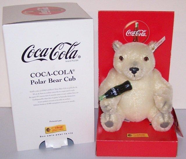 *STEIFF COCA-COLA POLAR BEAR CUB
