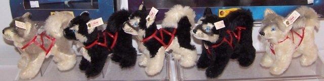 *5 STEIFF DOGS - 2