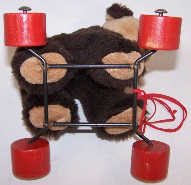 *STEIFF BEAR ON WHEELS - 5