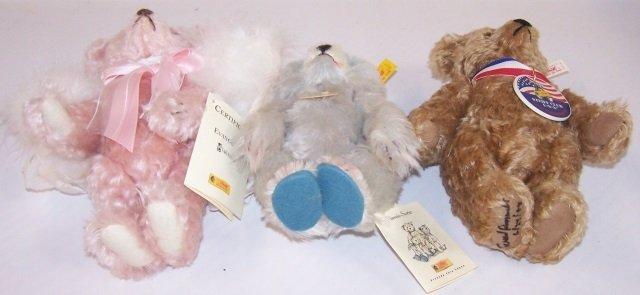 *3 STEIFF TEDDY BEARS - 4