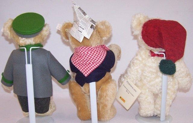 *3 STEIFF TEDDY BEARS - 2