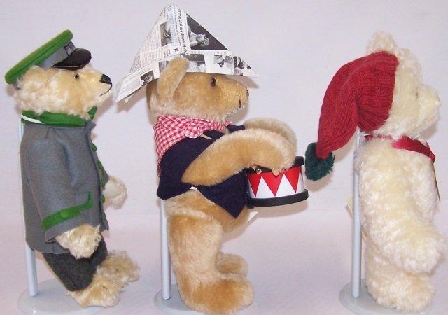 *3 STEIFF TEDDY BEARS - 3