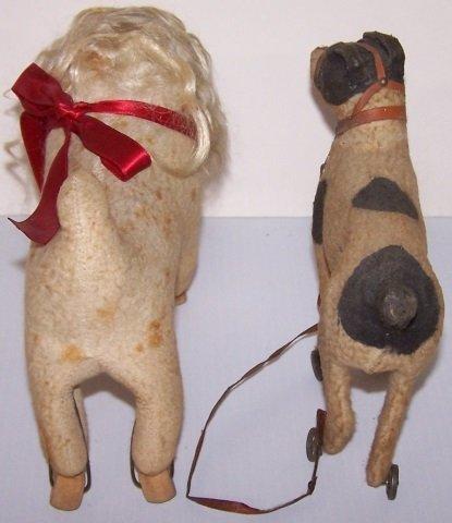 *2 DOG TOYS ON WHEELS - 5