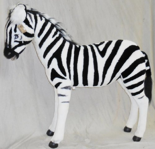 *RAMAT STUDIO STUFFED ZEBRA