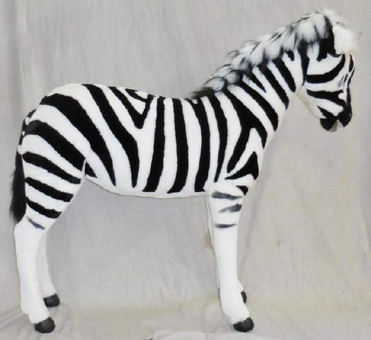 *RAMAT STUDIO STUFFED ZEBRA - 2