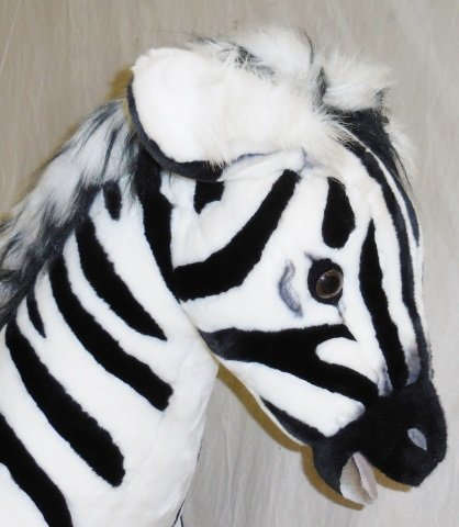 *RAMAT STUDIO STUFFED ZEBRA - 3