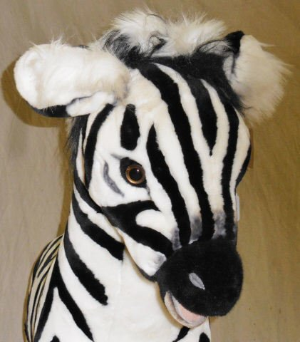 *RAMAT STUDIO STUFFED ZEBRA - 6
