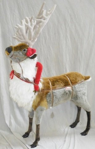 *RAMAT STUDIO STUFFED CHRISTMAS REINDEER