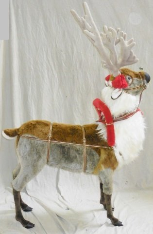 *RAMAT STUDIO STUFFED CHRISTMAS REINDEER - 2
