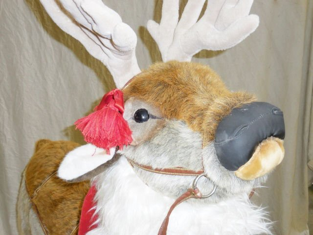 *RAMAT STUDIO STUFFED CHRISTMAS REINDEER - 3