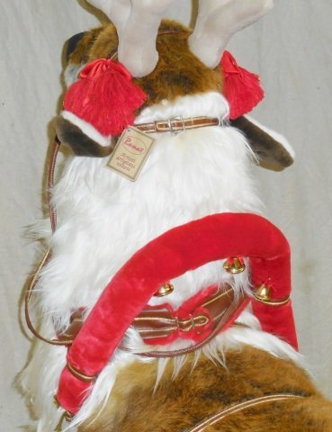 *RAMAT STUDIO STUFFED CHRISTMAS REINDEER - 4