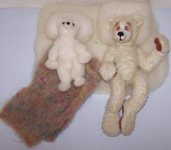 *2 BEARLY HUMAN DESIGNER BEARS - 2