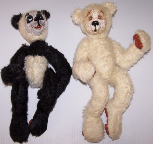 *2 BEARLY HUMAN DESIGNER BEARS - 4
