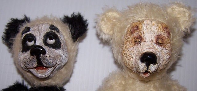 *2 BEARLY HUMAN DESIGNER BEARS - 5