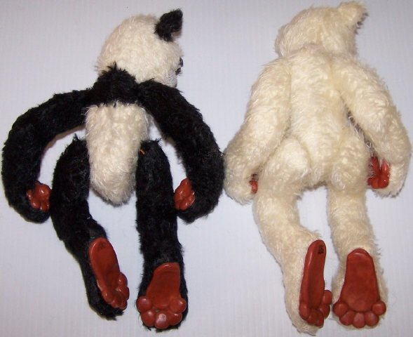 *2 BEARLY HUMAN DESIGNER BEARS - 6