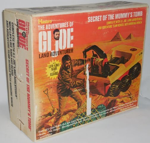 *G.I. JOE LAND ADVENTURER SET - 4