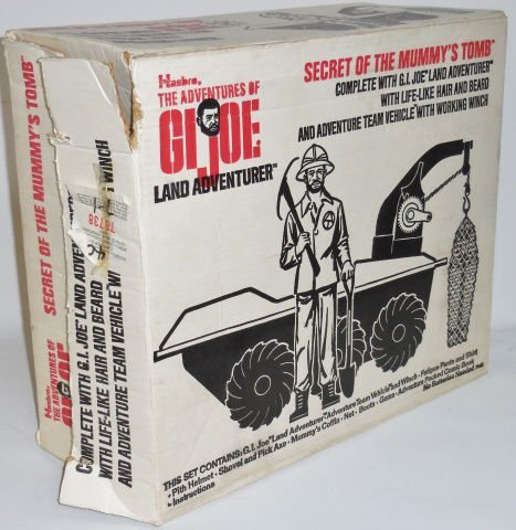 *G.I. JOE LAND ADVENTURER SET - 5