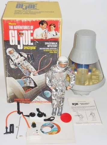 *G.I. JOE SPACE MAN AND SPACE CAPSULE SET