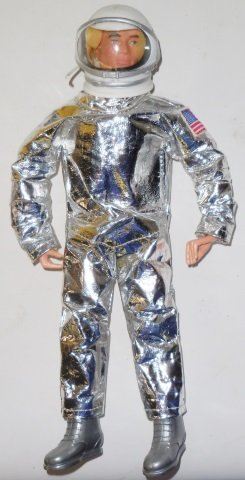 *G.I. JOE SPACE MAN AND SPACE CAPSULE SET - 3