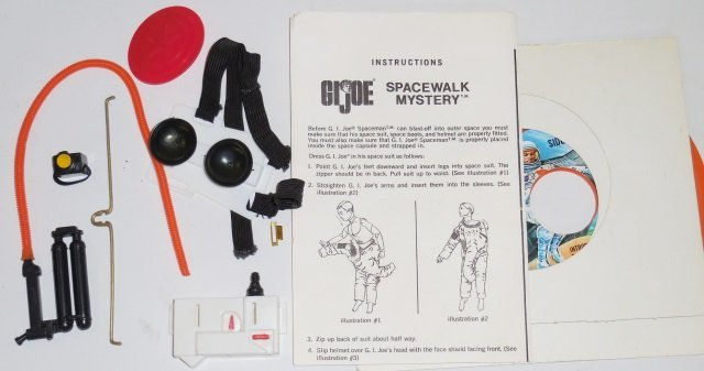 *G.I. JOE SPACE MAN AND SPACE CAPSULE SET - 4