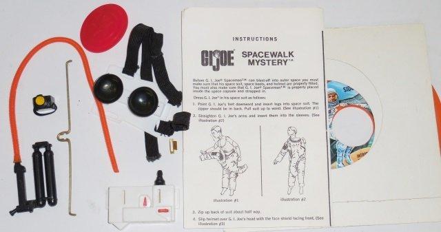 *G.I. JOE SPACE MAN AND SPACE CAPSULE SET - 4