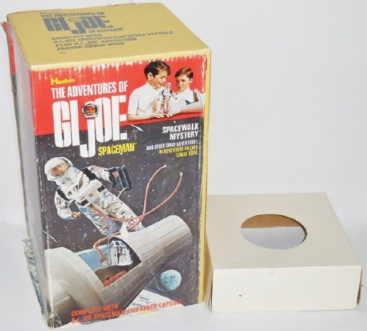 *G.I. JOE SPACE MAN AND SPACE CAPSULE SET - 6