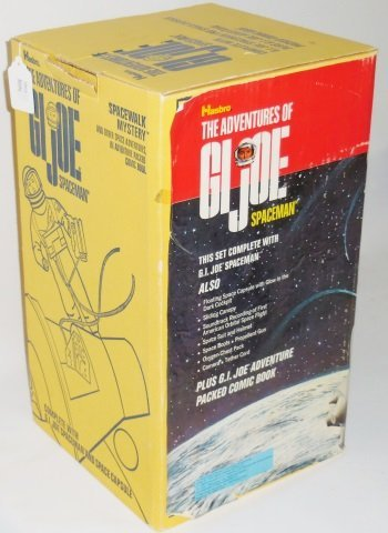 *G.I. JOE SPACE MAN AND SPACE CAPSULE SET - 7