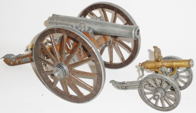 *2 MODEL CANNONS