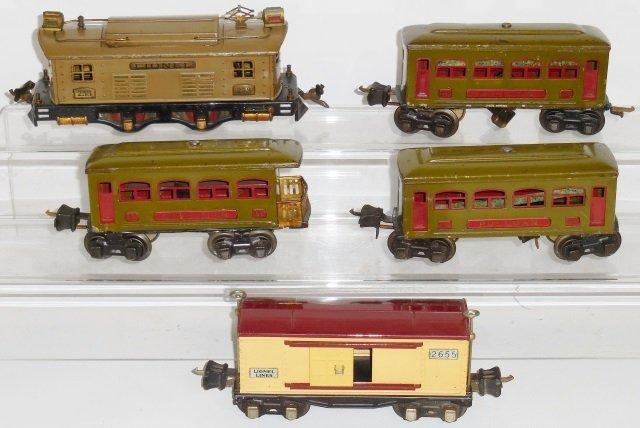 *LIONEL PRE-WAR O GAUGE TRAIN SET - 2