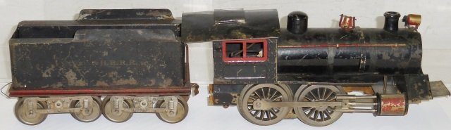 *LIONEL #6 LOCOMOTIVE AND TENDER - 2